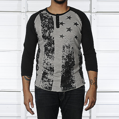 Legacy Edition Mens Raglan Flag Shirt