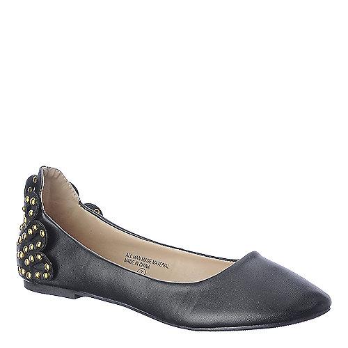 Bumper Zaire-26 Black Flat Shoes