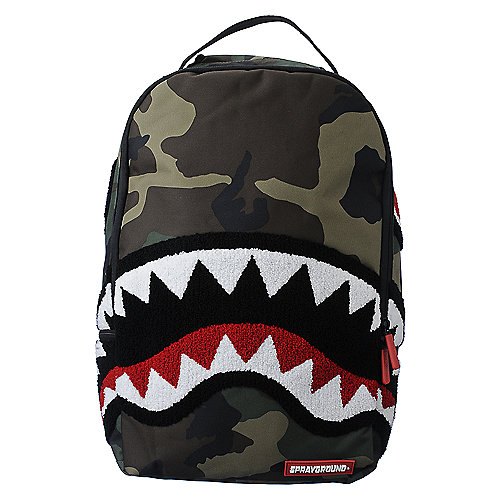 Sprayground Woodland Shark Backpack