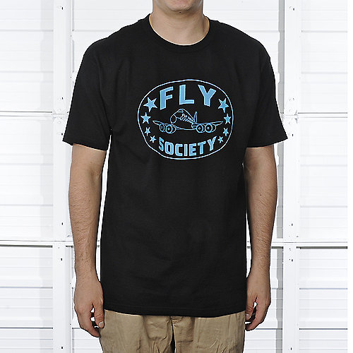 Fly Society Mens New Classic Tee