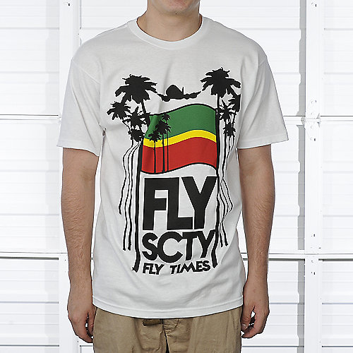 Fly Society Mens Fly Time Tee