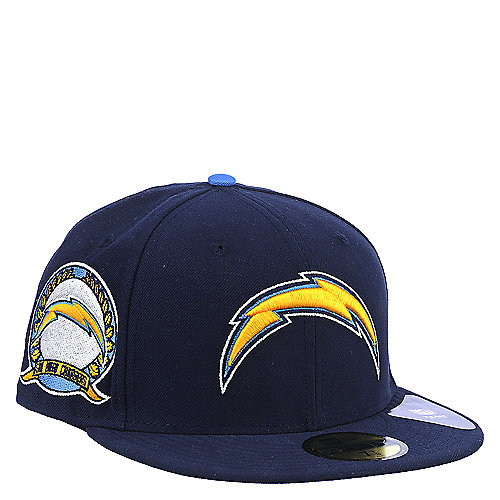San Diego Chargers Fitted Hats: New Era San Diego Chargers Cap Accessories Fitted Hats