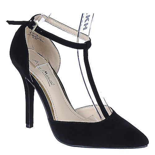 Anne Michelle Momentum-40 Pump Black