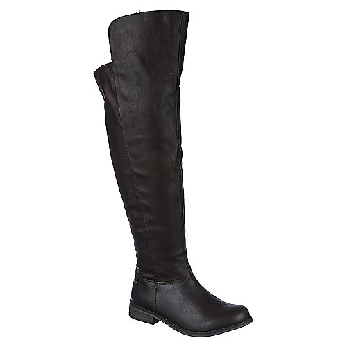 Breckelle's Knee-High Riding Boots Tenesee-17 Brown Western/Riding Boots
