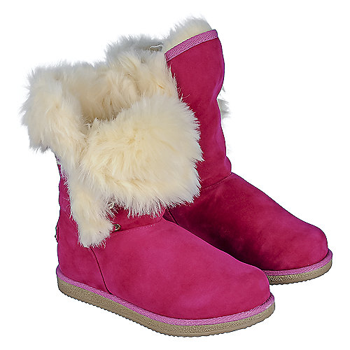 Shiekh Urban Fur Fuchsia Winter Boots | Cheap Boots