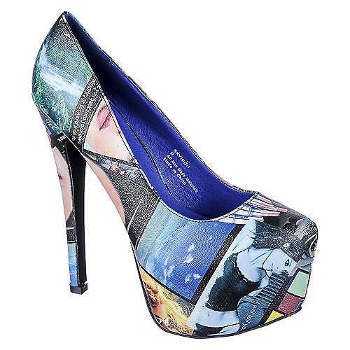 Shiekh SKYHIGH Multi-Color High Heel