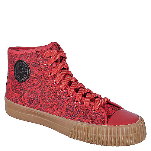 PF Flyers Center Hi Paisley Red