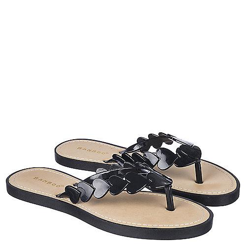 Bamboo Flip Flop Sandals Glenn-16 Black Flip Flop
