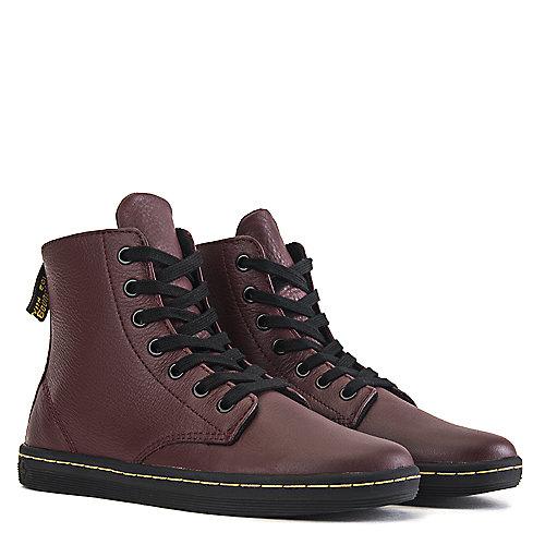 Dr. Martens Leyton Ankle Boots Burgundy