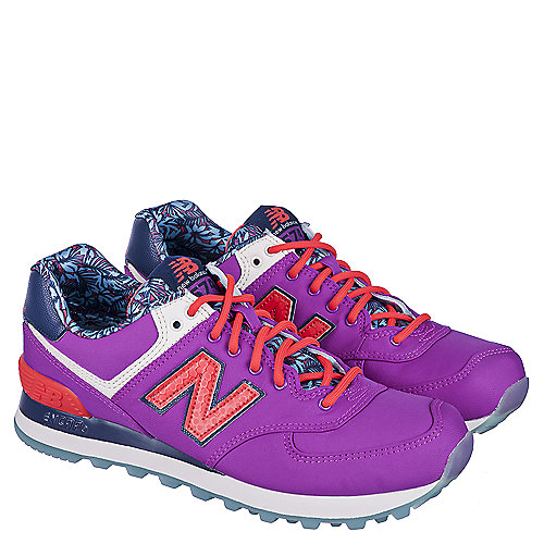 New Balance 574 (Women)  Walking Shoes Pink