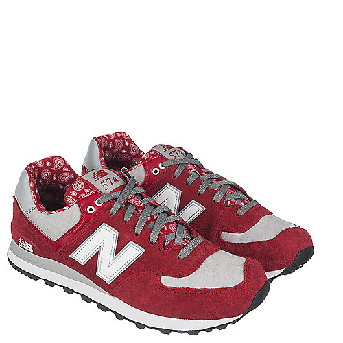 New Balance 574 Sneaker Red