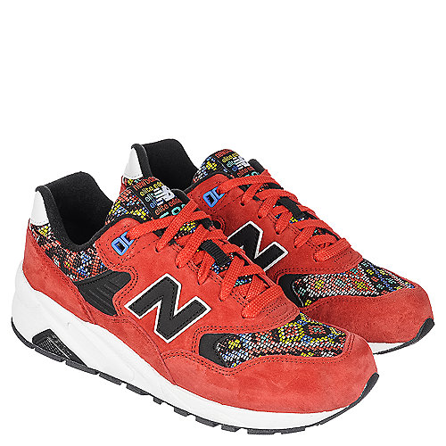 New Balance 580 Aztec Walking Shoes Red