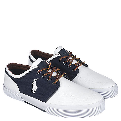 Polo Ralph Lauren Faxon Low Sneaker White