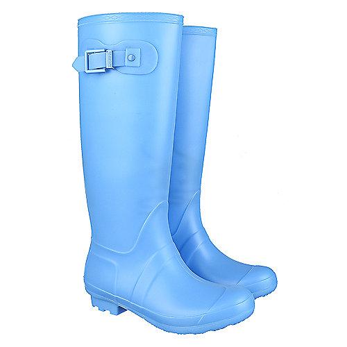 Shiekh Women's Mid-Calf Rainboot Rainny-1 Turquoise Rain Boots