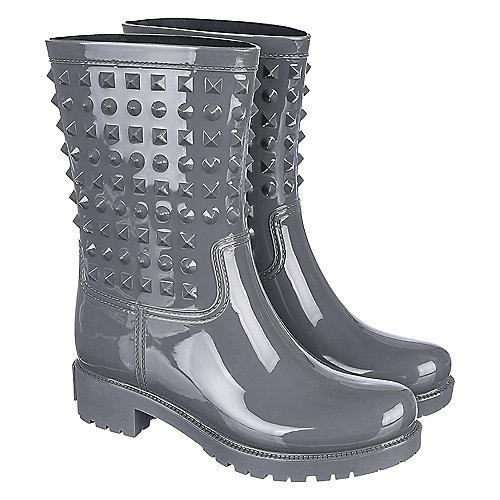 Shiekh Women's Rain Boot Alida-HR-1 Grey Rain Boots