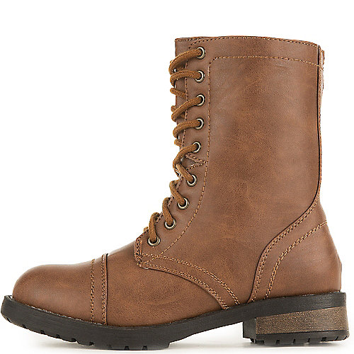 Shiekh Women's Combat Boot Pk-15 Tan Combat Boots