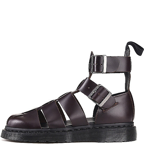 Dr. Martens Unisex Geraldo Gladiator Platform Sandals Brown Sandals