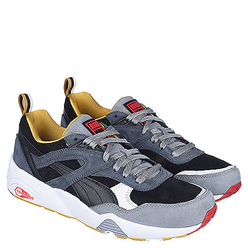 Puma Mens Casual Sneaker R698 BAU Sneaker Black
