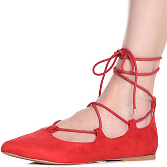 1920sStyleShoes Womens C-LS7297P Lace-Up Casual Shoe $11.99 AT vintagedancer.com