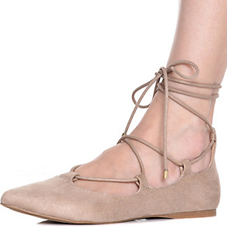 1920sStyleShoes Womens C-LS7297P Lace-Up Casual Shoe $25.00 AT vintagedancer.com