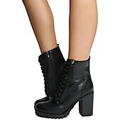 Women's Low-Heel Lace-Up Boot Malia-S