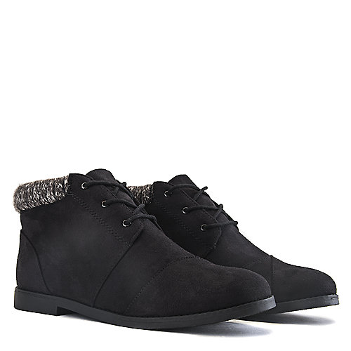 Soda Plash-S Knitted Ankle Boots Black