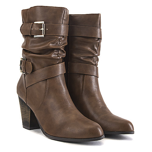Soda Kember-S Low Heel Boots Tan Western/Riding Boots
