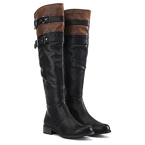 Soda Knee-High Riding Boots Ride-H Black Western/Riding Boots