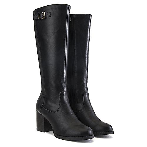 Soda Women's Mart-S Mid-Calf Boot Black Mid-Calf Boots
