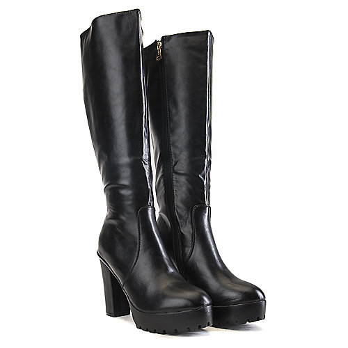 DbDk Phoenix-1 Knee-High Boots Black