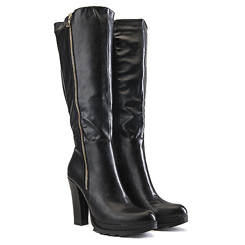 DbDk Phoenix-2 Knee-High Boots Black