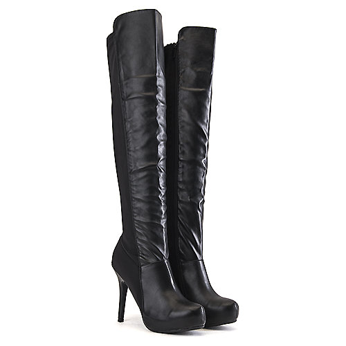 Dollhouse Coexist Knee-High Boots Black
