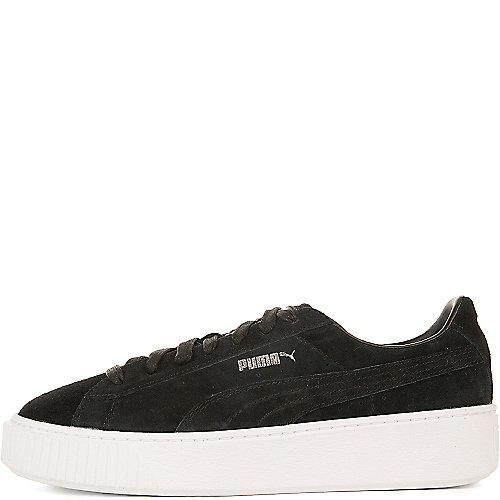 Puma Suede Platform Casual Sneakers Black