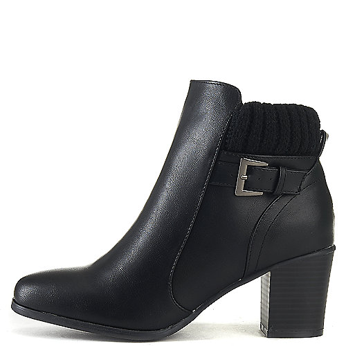 Wild Diva Bray-01 Ankle Boots Black