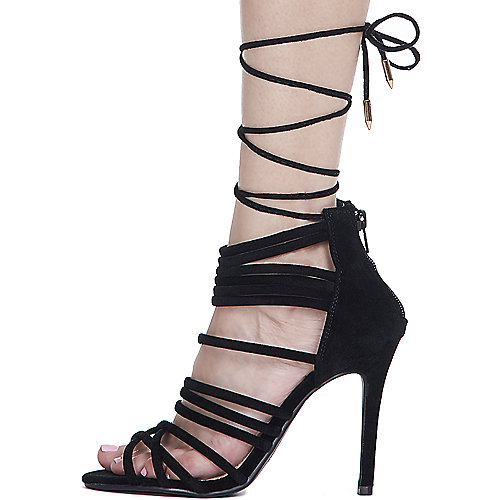 Shoe Republic LA Iggy High Heel Dress Shoe Black