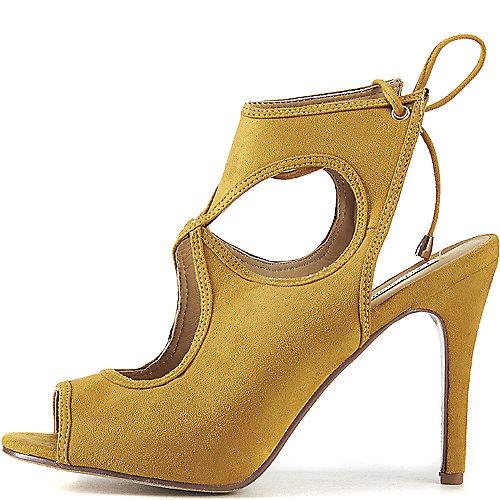 Cape Robbin Drew-10 High Heel Dress Shoe Yellow