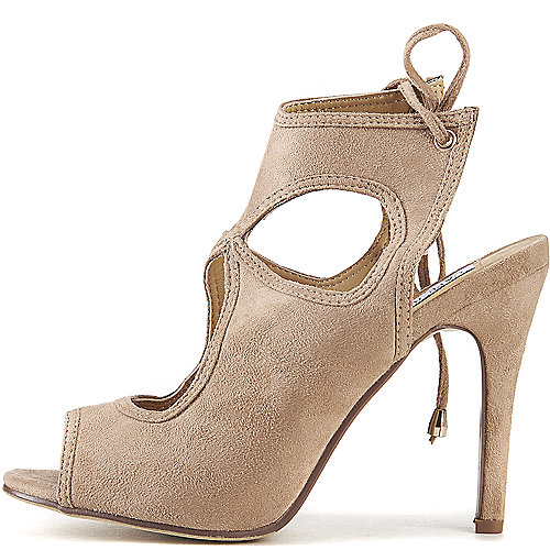Cape Robbin Drew-10 High Heel Dress Shoe Natural