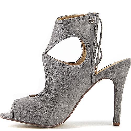Cape Robbin Drew-10 High Heel Dress Shoe Grey