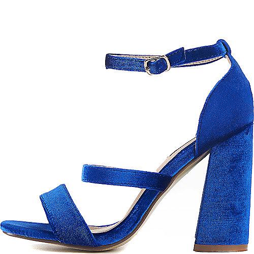 Cape Robbin Sol-1 High Heel Dress Shoe Blue