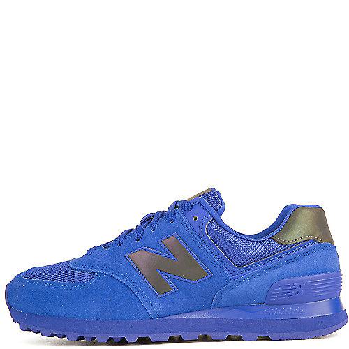 New Balance Athletic Walking Shoe 574 Blue Walking Shoes