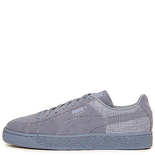 Puma Suede Classic Emboss Casual Sneakers  Blue