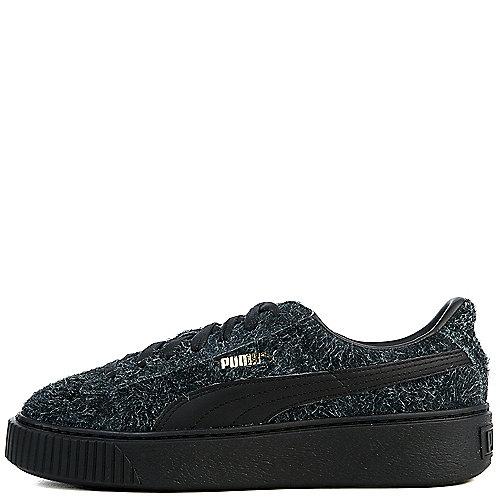 Puma Suede Platform Elemental Casual Sneakers Black