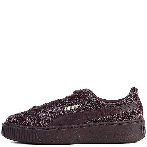 Puma Suede Platform Elemental Casual Sneakers Purple