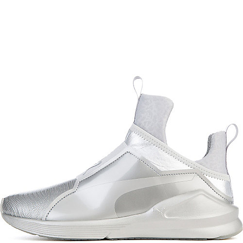 Puma Fierce Metallic Athletic Sneakers Silver