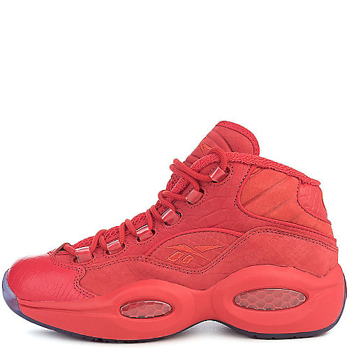 Reebok Question Mid Teyana Taylor Basketball Sneakers Red Court Shoes