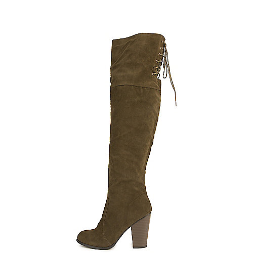 Shiekh Max-2 Knee High Boots  Green