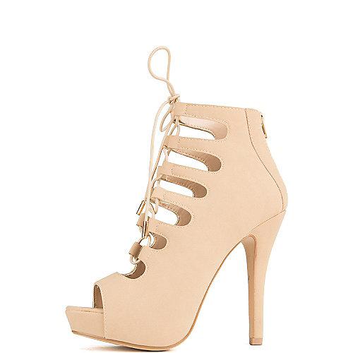 Delicious Patron-S High Heel Dress Shoe Tan