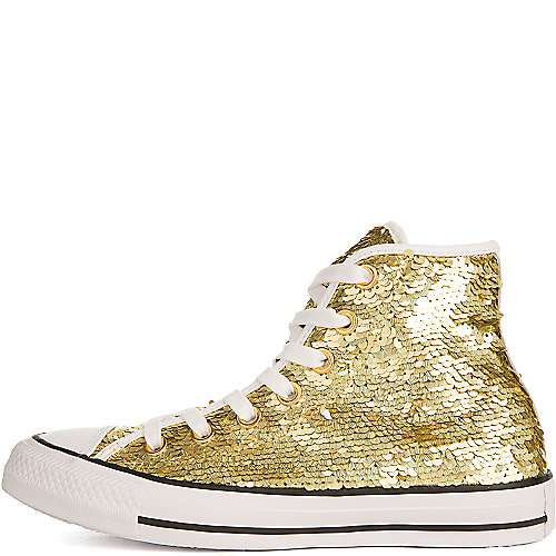 Converse Chuck Taylor All Star Hi Casual Sneakers Gold