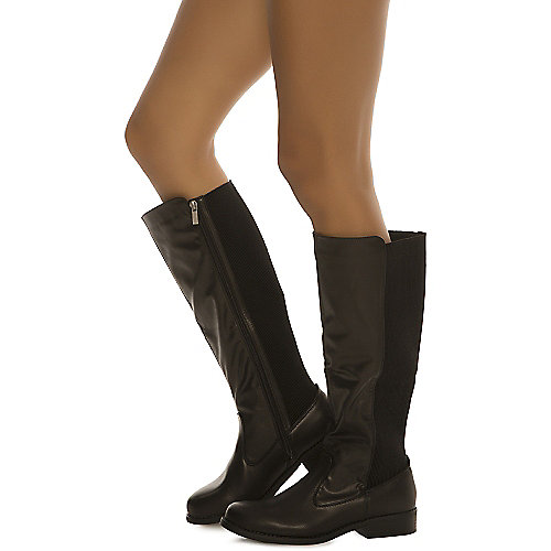 Dollhouse Deception Mid-Calf Boots Black
