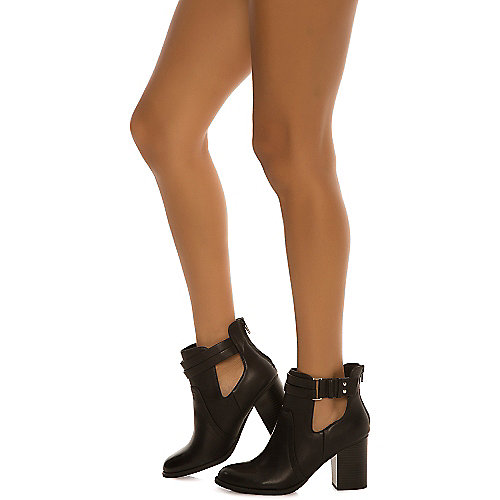 Soda June-S Ankle Boots Black